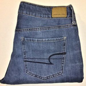 Womens American Eagle Outfitters Stretch Jeans 8